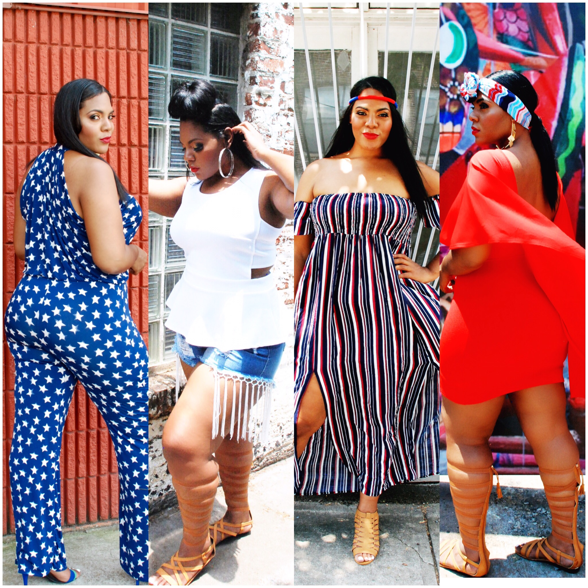 4 Must Have Looks for the 4th of July graphic