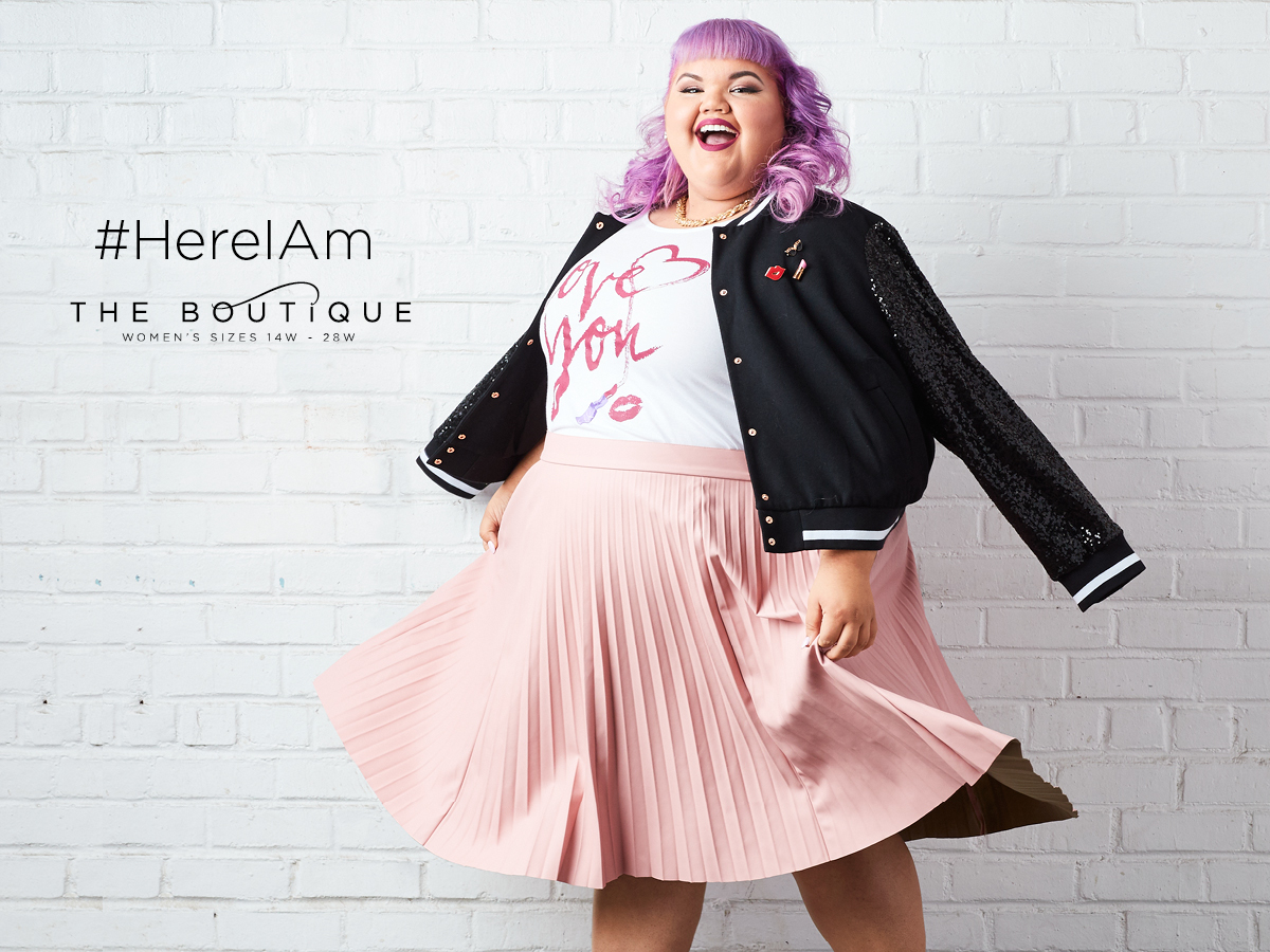 #HereIAm: JCPenney graphic