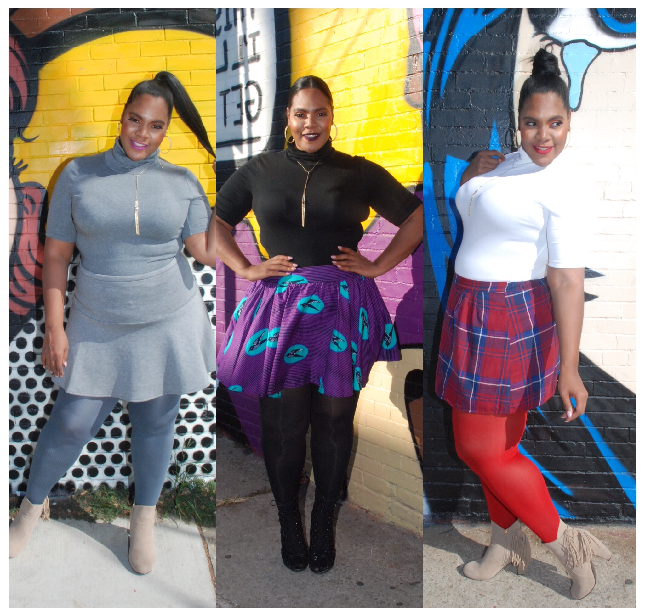 TOP 3 MUST-HAVE PLUS SIZE TIGHTS graphic