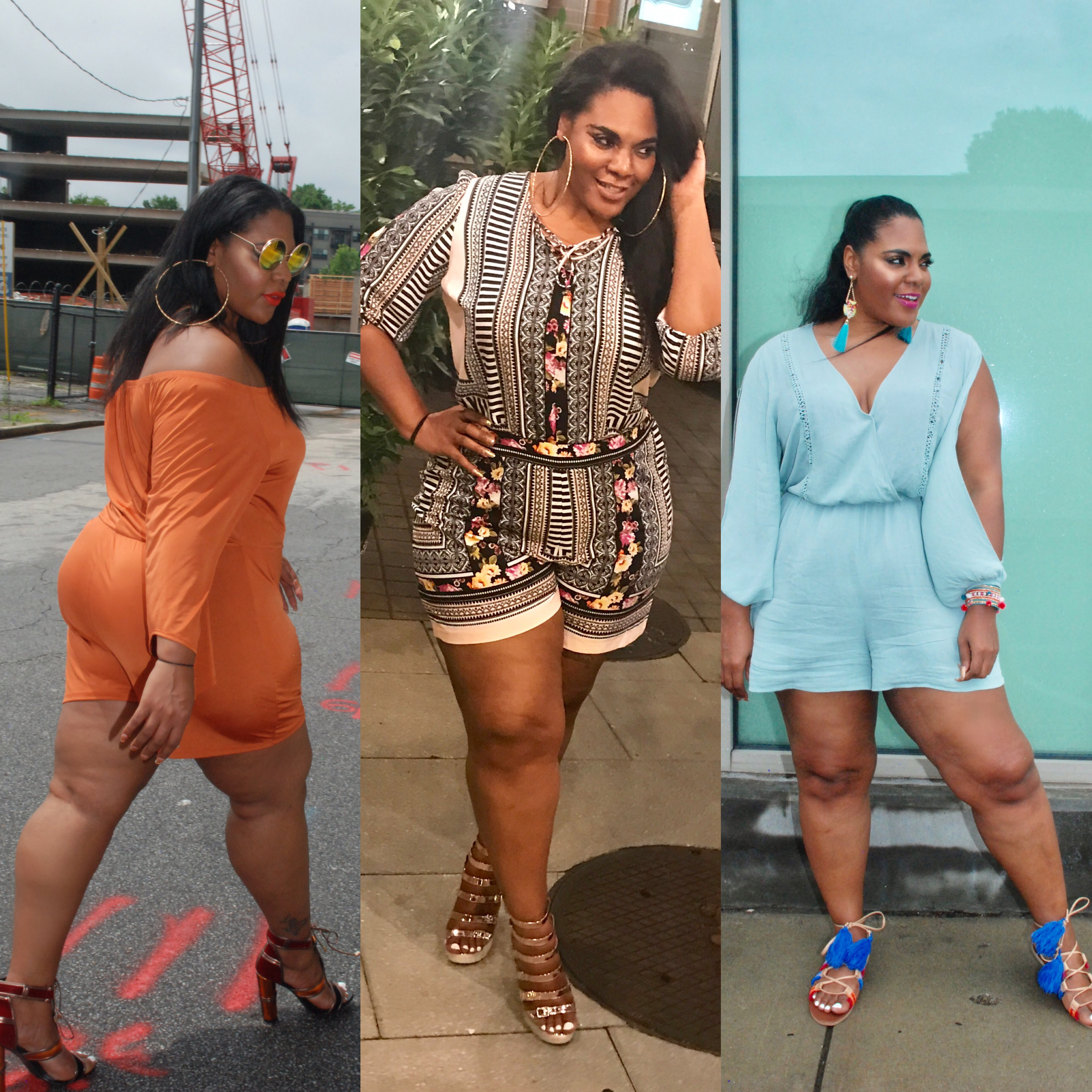 Are Rompers The New Little Black Dress? Here's 14 Must-Have Plus Size Rompers