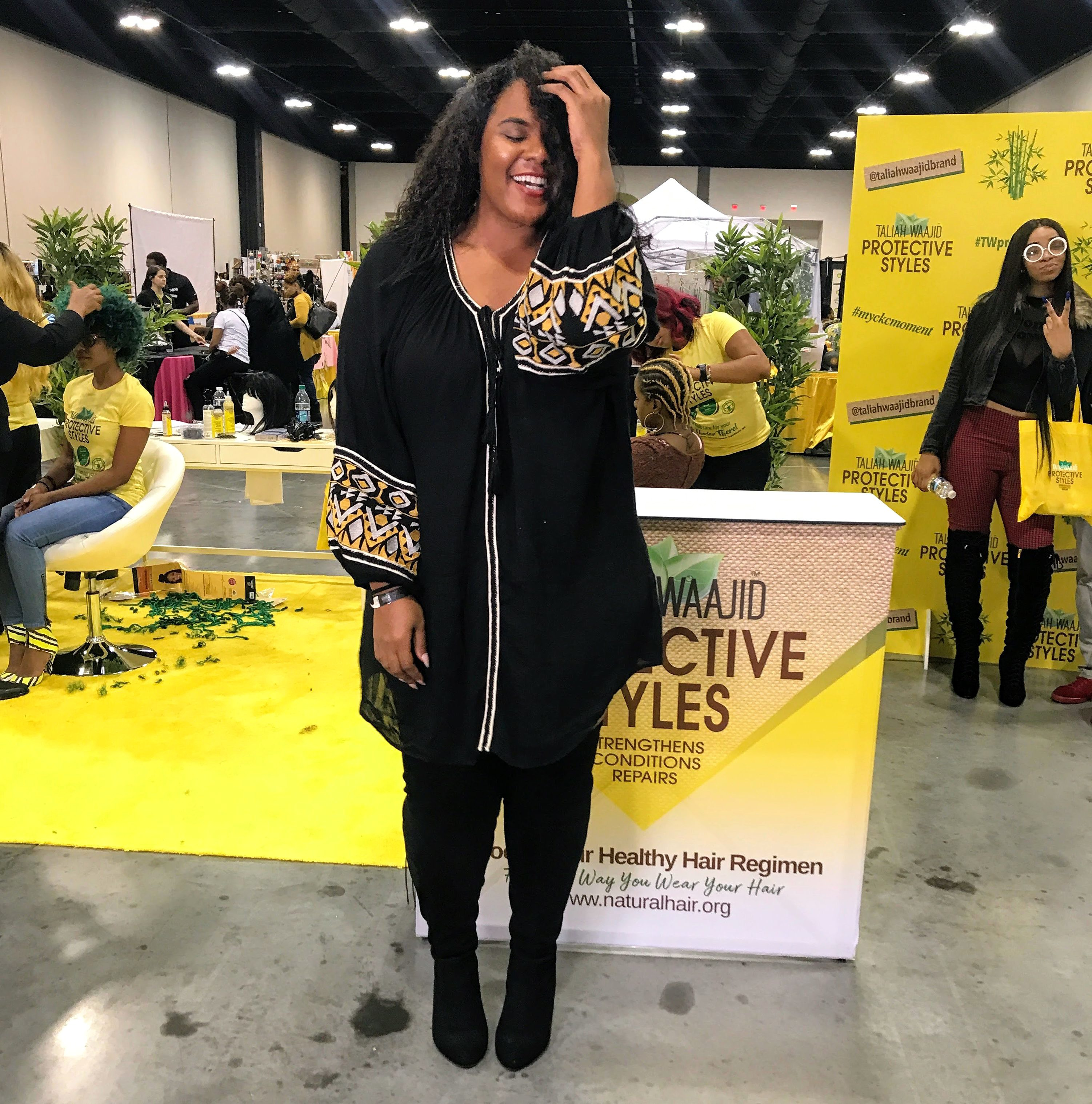#SOHcialite: My Experience at Taliah Waajid Curls, Kinks, &  Culture Pop-Up Festival graphic